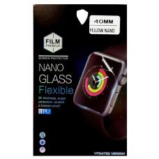 Защитная пленка для Apple Watch NANO 40 мм черная