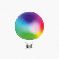 Умная лампа Zetton LED RGBCW Wi-Fi Bulb G120 E27 18Вт