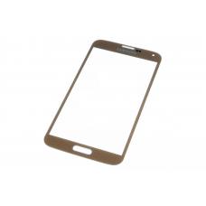 Стекло для переклейки Samsung Galaxy S5/G900 Gold