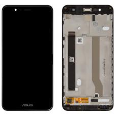 Дисплей с тачскрином Asus ZenFone 3 Max ZC520TL (X008D) в рамке черный оригинал