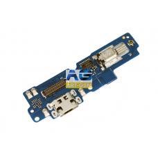 Плата ASUS  ZenFone 4 Max ZC554KL с разъемом зарядки и микрофоном