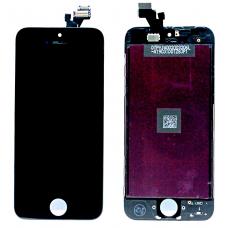 Дисплей с тачскрином для iPhone 5 черный AAA