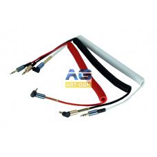 AUX провода Aux Cable 3.5mm (пружинка)