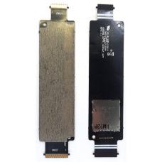 Шлейф коннектор Sim + карты памяти Asus Zenfone 5 A500KL (T00P)