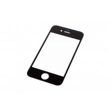 Стекло для переклейки Apple iphone 4/4s Black