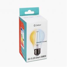 Умная лампа Zetton LED Smart Wi-Fi Bulb A60 E27 6Вт 2200-6500К