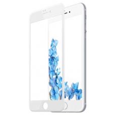 Защитное стекло 5D для iPhone 7/8 Plus (без упаковки) (white)