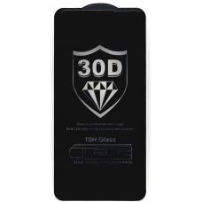 Защитное стекло полное для Huawei Honor 30 / Nova 7 черное