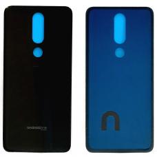 Задняя крышка для Nokia 5.1 Plus Черный