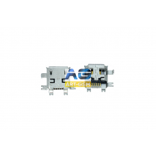 Разъем зарядки HTC Micro Usb 5pin (R204)