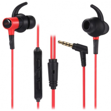 Наушники UiiSii HI-710 In-ear Stereo HiFi Earphones (red)