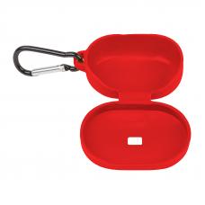 Силиконовый чехол для Redmi AirDots с карабином (красный/европакет) 13