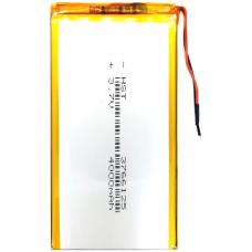 Аккумулятор Универсальный 3.7*66*125 mm 3.7v 4000mAh ( 3766125P )