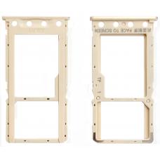 Лоток Sim-карты Xiaomi Redmi 6/ Redmi 6A золотой