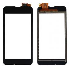 Тачскрин Nokia Lumia 530 Dual RM-1019 черный