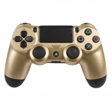 Джойстик для PS4 Dual Shock 4 (золото/коробка)