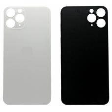 Задняя крышка для iPhone 11 Pro серебристая