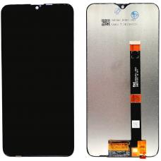 Дисплей с тачскрином OPPO A12 черный оригинал