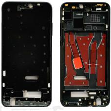 Рамка дисплея для Huawei Honor 8X / 9X Lite Черная