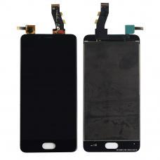 Дисплей с тачскрином Meizu U10 черный