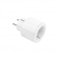Умная розетка Zetton Smart Plug 16A, мониторинг потребления, RGB подсветка ZTSHSSPML16A1RU (белая)