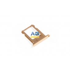 SIM лоток (Держатель сим карты) Apple Iphone 6 4.7 Gold (I93)