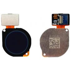 Сканер отпечатка пальца для Huawei P Smart Z/ Honor 9X/Honor 10 Lite/P30 Lite черный оригинал