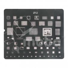 BGA трафарет для iPhone 12/12 mini/12 Pro/12 Pro Max